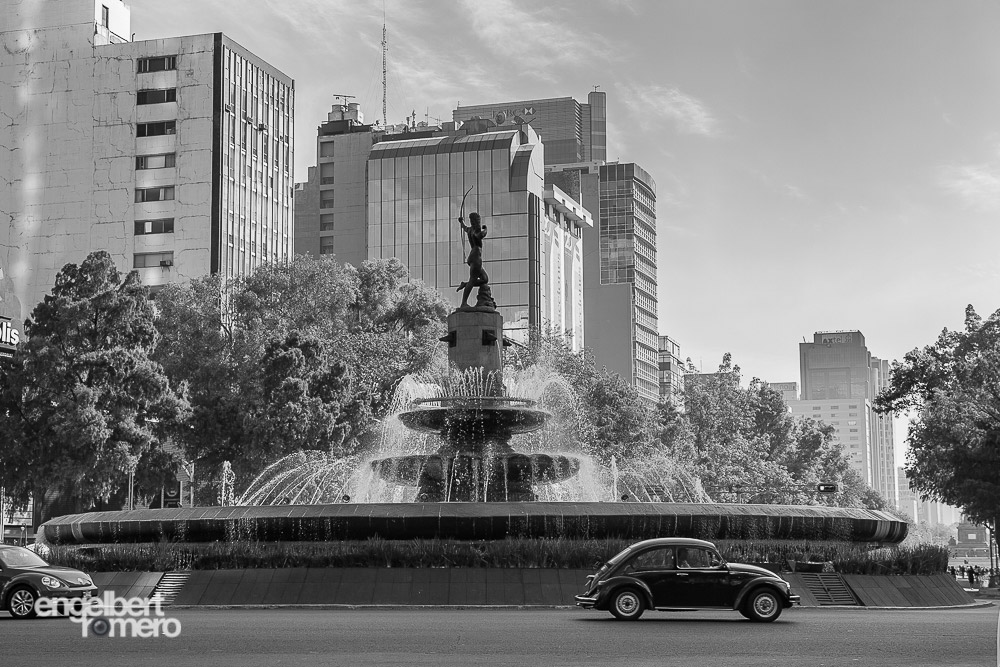 Fountain of Diana the Huntress, Paseo de la Reforma, Mexico City